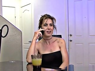 Whore Wifey Fucks With The Tv Man