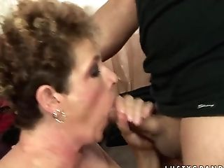 Babuska Flashing Her Awesome Sucking Skill And Fucking A Youthfull Man