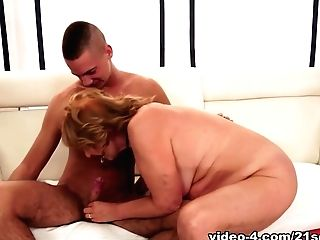Amazing Pornographic Star In Incredible Ginger-haired, Big Bootie Orgy Movie