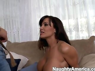 Lisa Ann Ges Enjoyments By Youthful Boy Seth Gamble