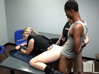 Dude Falls In Perverted Mummy Cops Deviant Trap As She Plays Sundress Up