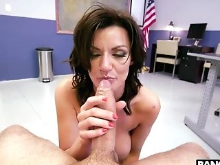 Fucking Awesome Bitch Becky Bandini Is Fucked At The Police Station