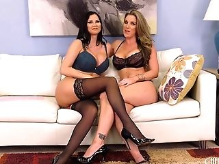 Kayla Paige Is Making Love With Jasmine And They Are Even Using Some Fuck-a-thon Fucktoys