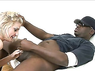 Fairly Bootyful Ordinary Pallid Whore Lya Pink Is Savagely Fucked By Black Hunk