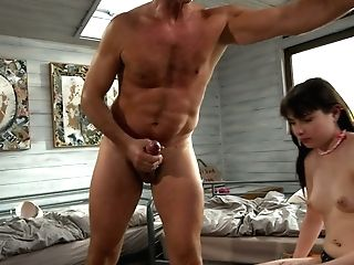 Awesome Beauty Samanta Blaze Puts On Strap On Dildo And Fucks One Sweet Gf