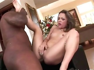 Extreme Big Black Cock Ass-fuck Wide Open For Milky Cougar