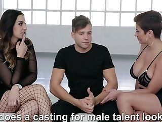 Colombian Bitch Amaranta Hank Is Testing Fresh Pornography Actor At The Casting