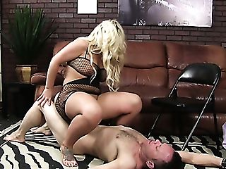 Dissolute Blonde Hoe Julie Cash Predominates Her Non-traditional Paramour