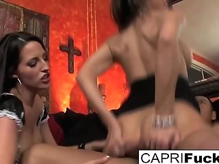 The Whorish Maid Gets Fucked Hard In This Hot Threesome