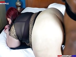 Big Dick Black Dude With Dreadlocks Fucks Big Booty Milky Mom