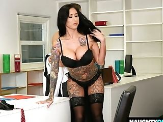 Sex-positive Assistant Lily Lane Has An Affair With One Of Her Co-employees